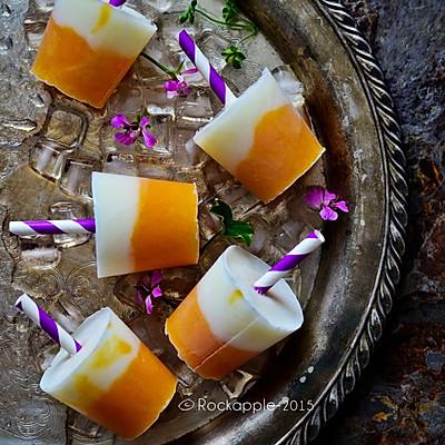 芒果酸奶迷你小冰棒