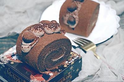 网红脏脏蛋糕卷