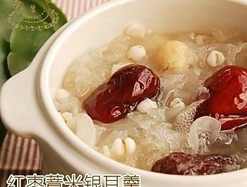红枣薏米银耳羹