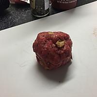 【孤独的留学生】自制牛肉小汉堡的做法图解4