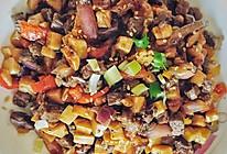 黑椒杏鲍菇牛肉粒的做法