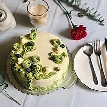八寸奶油蛋糕(含奶油霜制作方法)