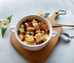 奶香布丁面包-剩吐司的花样吃法的做法