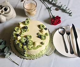 八寸奶油蛋糕(含奶油霜制作方法)的做法