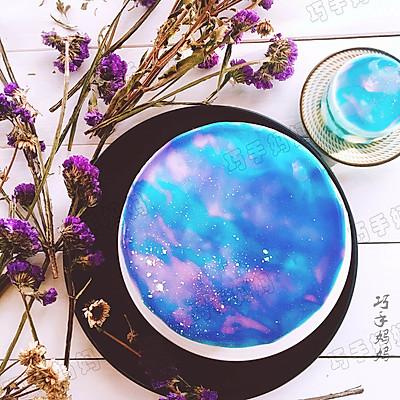 许一片星空给你,只因你是我最在乎的人——星空蛋糕