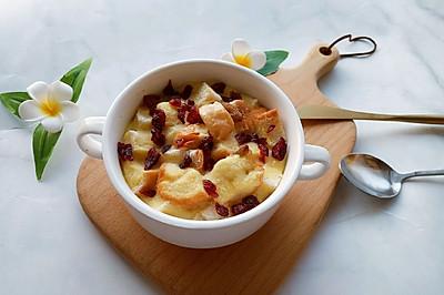 奶香布丁面包-剩吐司的花样吃法