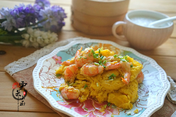虾仁滑蛋——食材好才是真的好!