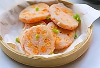 鲜虾藕夹 宝宝辅食食谱的做法