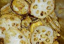香酥茄夹、藕夹(多余的饺子馅做的)的做法