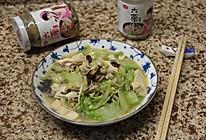 六菌汤炖白菜的做法
