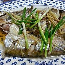乐乐自家菜---清蒸太湖白鱼
