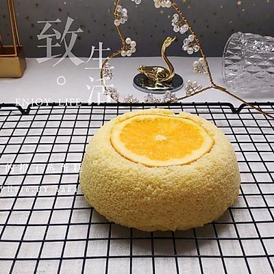 橙子蒸蛋糕