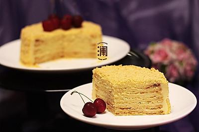 千层的浪漫:俄罗斯拿破仑蛋糕