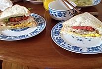 【自制三明治】超级简单美味的家庭版三明治~的做法
