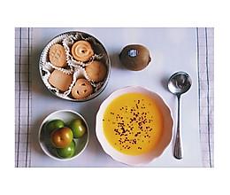 南瓜牛奶浓汤的做法