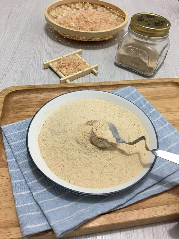 自制虾粉—纯天然调味品的做法