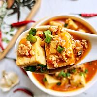 #今天吃什么#超级下饭的肉沫豆腐!的做法图解7