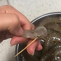 #花10分钟,做一道菜!# 姜末蒸草虾的做法图解3