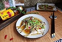 清蒸小鲳鱼#金龙鱼外婆乡小榨菜籽油 外婆的食光机#的做法