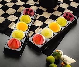 五彩缤纷水果冻的做法