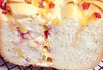 面包机版杂蔬火腿面包的做法