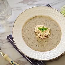 鸡丝奶油蘑菇汤 -《好先生》孙红雷打动主厨