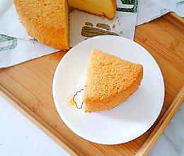 6寸南瓜戚风蛋糕,少糖少油版的做法