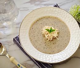 鸡丝奶油蘑菇汤 -《好先生》孙红雷打动主厨的做法