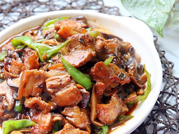香菇炒肉片的做法