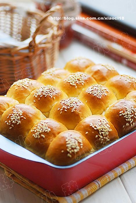 蜂蜜牛奶小餐包