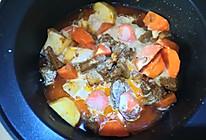 咖喱牛腩的做法