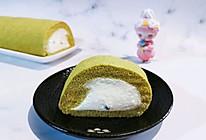 【卷】抹茶蜜豆蛋糕卷的做法