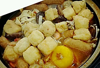 什锦暖锅的做法