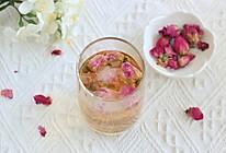 陈皮玫瑰花茶的做法