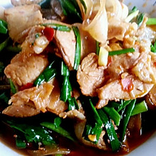 李孃孃爱厨房之——蒜苗炒回锅肉(川菜)