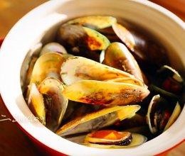 跟随顶级名厨雷蒙德,学做简单美味法式贻贝的做法