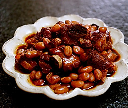 南乳花生烧排骨(简单电饭锅菜)的做法