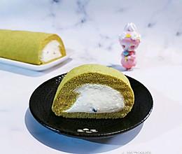 【卷】抹茶蜜豆蛋糕卷