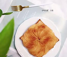 #牛气冲天#肉桂吐司苹果派的做法