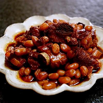 南乳花生燒排骨(簡單電飯鍋菜)