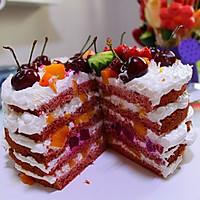 红丝绒裸蛋糕的做法图解22