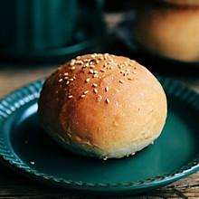 #硬核菜谱制作人#汉堡胚~小餐包波兰种