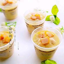 #百变水果花样吃#榴芒雪糕杯