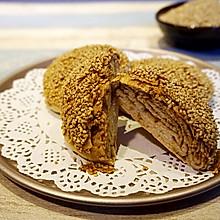 酥脆掉渣的芝麻酱烧饼