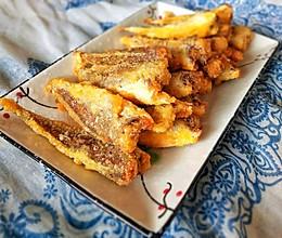 #换着花样吃早餐#干炸小黄鱼的做法