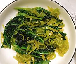 蒜蓉莴笋丝的做法