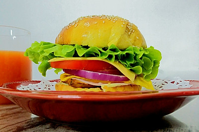 美国汉堡包
