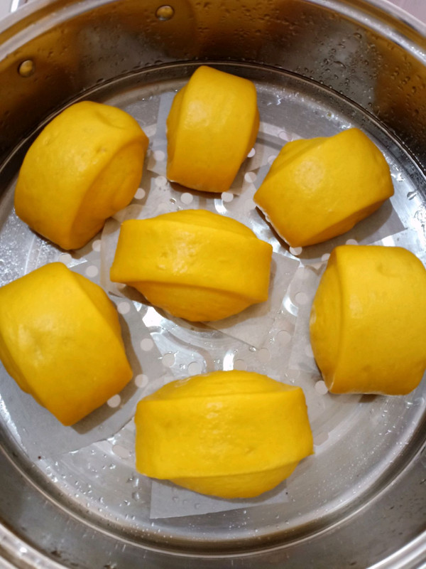 奶香南瓜馒头的做法