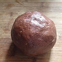 巧克力坚果方块饼干#美的烤箱菜谱#的做法图解6