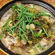 酸菜煎焗鱼